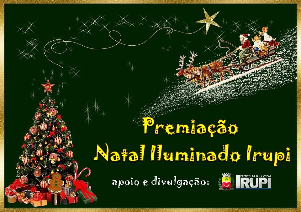 Premiação Natal Iluminado Irupi