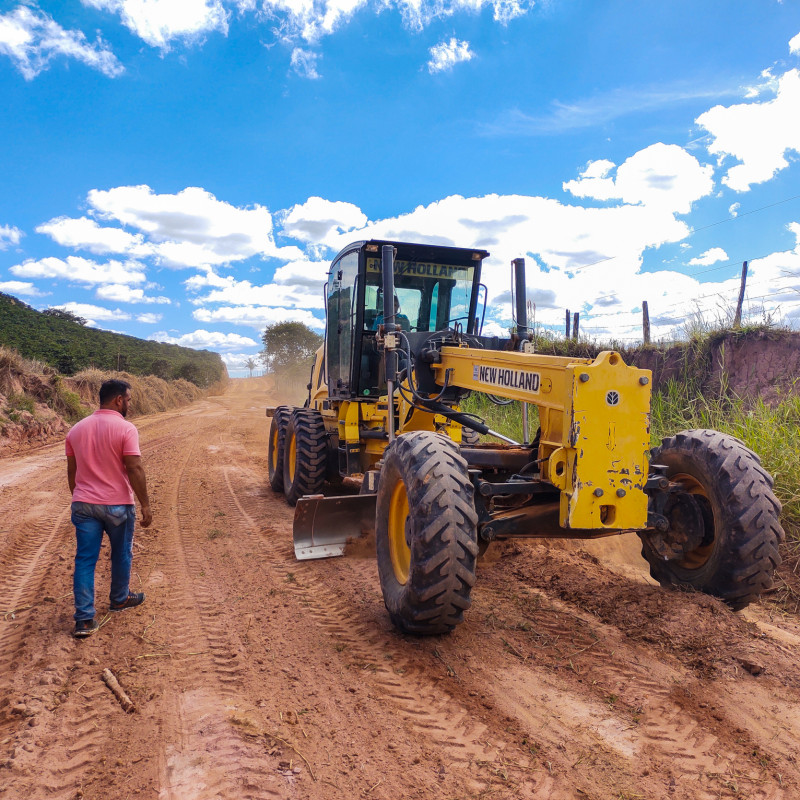 Recuperação das nossas estradas rurais.