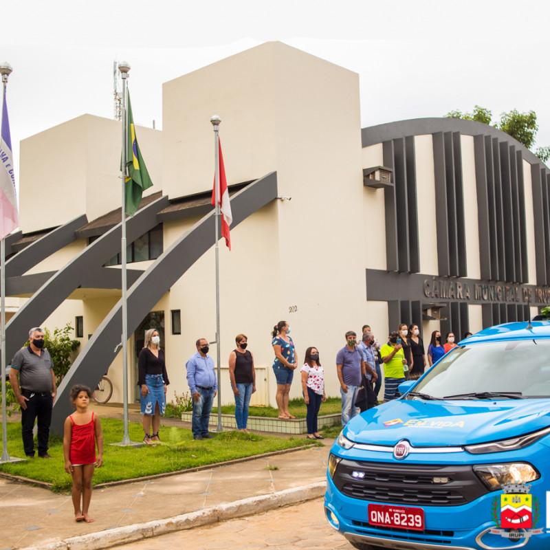 Homenagem prestada pelo Governo Municipal ao ex-vice-Prefeito e Vereador de Irupi, Edmar Araújo de Lima, conhecido popularmente como Didi.