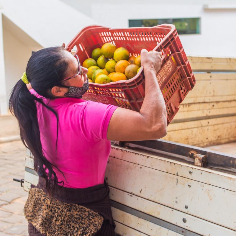 1ª entrega do programa Compra Direta de Alimentos (CDA)