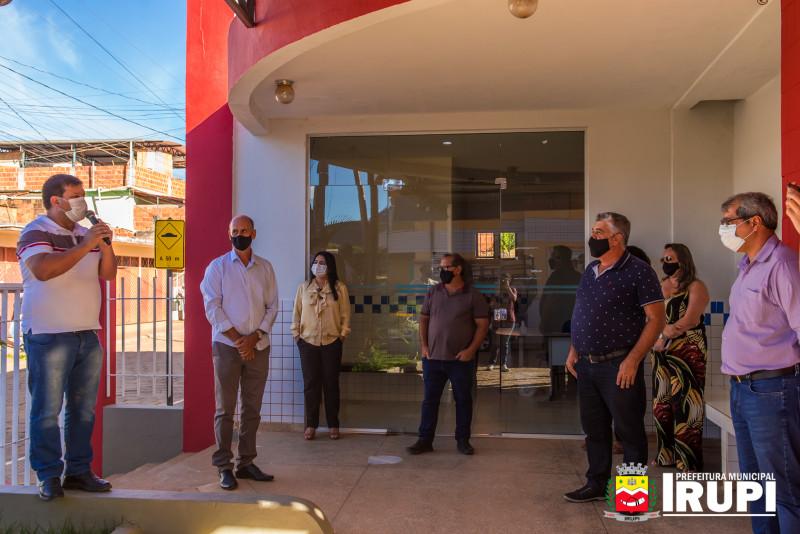 Instalações do SAMU em Irupi