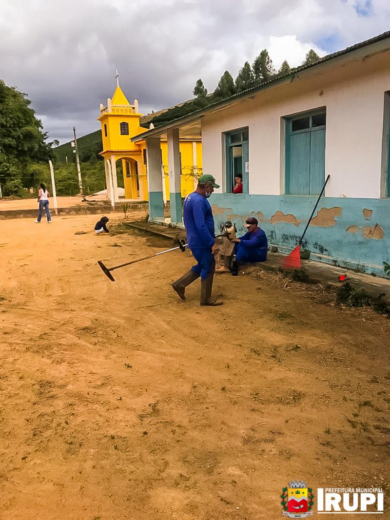 Limpeza das Escolas para retorno das aulas presenciais