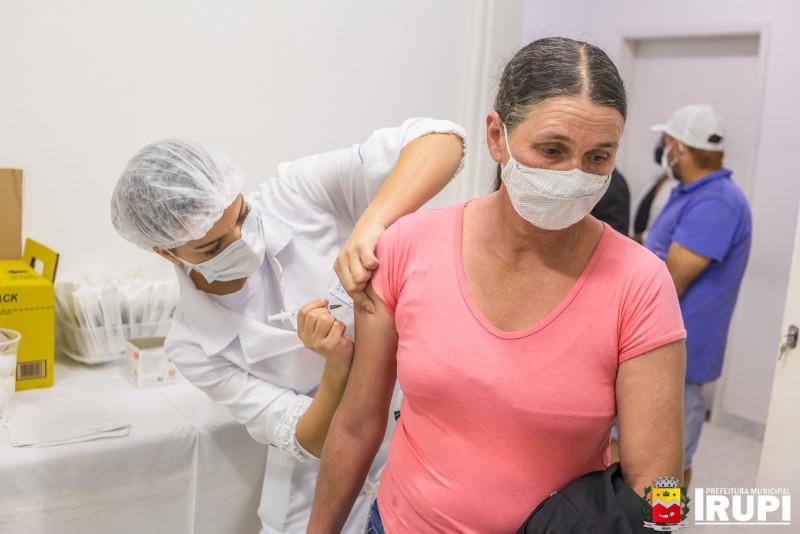 Ação de Vacinação - 2ª Dose e Influenza